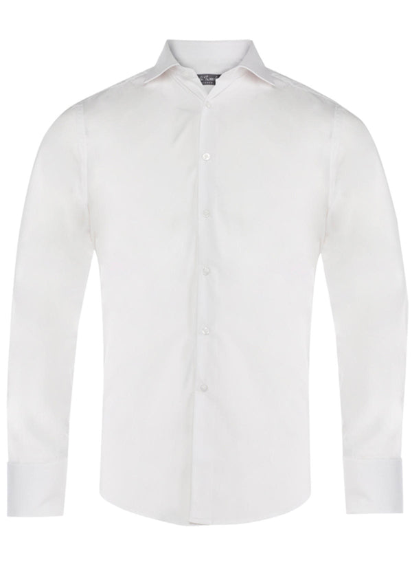 White Double Cuff Formal Shirt