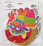 12 Piece Fiesta Hanging Whirls - Mexican Party Ceiling Decorations