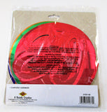 Pack of 5 80th Birthday Hanging Whirls - 91cm - Happy Birthday Party Decorations