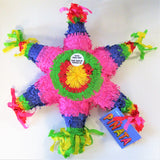 Mexican Star Pinata - Children Party Games - Multi Coloured Outdoor Game