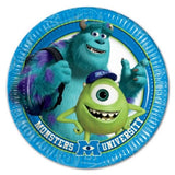32 Monsters University Paper Plates - 23 cm (9 in) in diameter