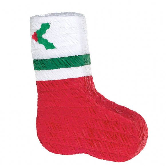 Christmas Stocking Pinata - 43 cm x 34 cm - Xmas Party Games and Activities