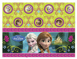 "1 Disney Frozen Plastic Table Cover - 120 cm x 180 cm (47.2"" x 70.8"")."