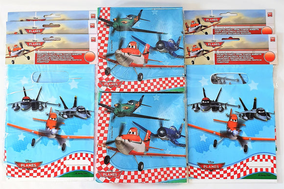 Disney Planes Pack of 30 Party Bags and 40 Napkins - Tableware and Gift Bags