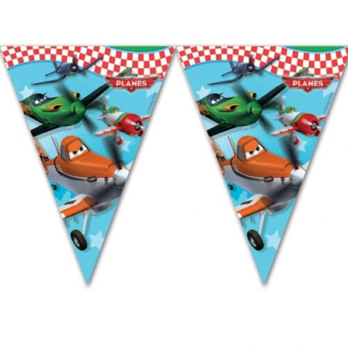 Disney Planes Plastic Flag Banner - 2.3m - Hanging Party Decorations