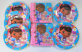 Disney Doc McStuffins Party Tableware Pack for 40 People - Plates and Napkins