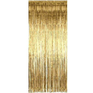 Shimmer Foil Door Curtain & Fringe Garlands All Colours and Packs - Hanging Party Decorations