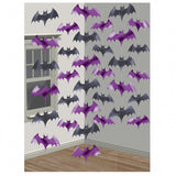 Halloween Bat 6 String Hanging party Decorations - Ceiling Decor