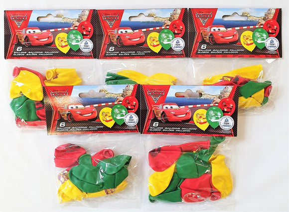 Pack of 30 Disney Cars 2 Latex Party Balloons - Disney Balloon Party Decorations