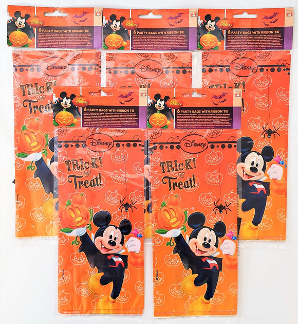 Pack of 30 Mickey Mouse Halloween Party Bags - Disney Favour Bag