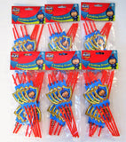 Pack of 48 Mike The Knight Drinking Straws - Medieval Party Tableware