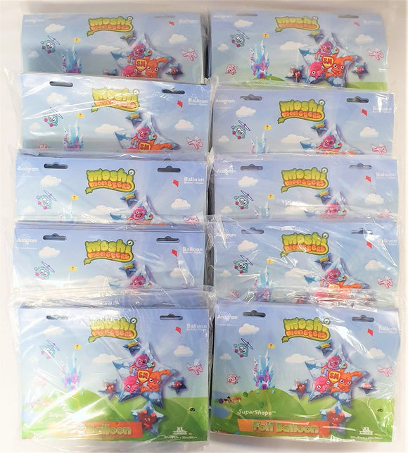 Pack of 50 Moshi Monster Super Shape 32