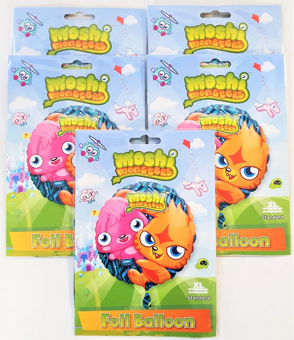 Pack of 5 Moshi Monsters 18