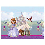 1 Sofia the First Plastic Table Cover (120 cm x 180 cm)