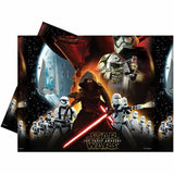 1 Star Wars The Force Awakens Plastic Table Covers - 137 cm x 213 cm (1.37 m x 2.13 m)