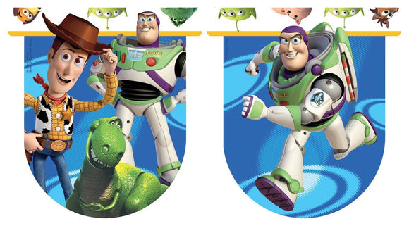 Disney Pixar Toy Story 3 Plastic Flag Banner - 3m - Hanging Party Decorations