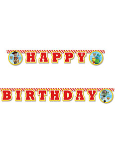 Disney Pixar Toy Story 4 Happy Birthday Letter Banner - Hanging Party Decoration