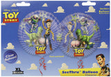 "Pack of 5 Disney Pixar Toy story 26"" Clear Helium Balloons Buzz Lightyear Woody"
