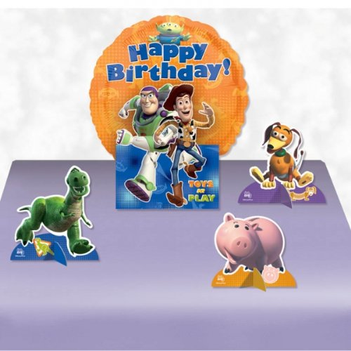 Disney Pixar Toy Story Happy Birthday Balloon Centrepiece Party table Decoration