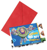 30 Toy Story Invitations and envelopes.