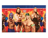 WWE Wrestling Plastic Table Covers - 137 cm x 243 cm (54 in x 96 in).