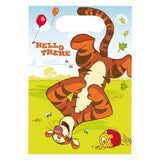 30 Winnie The Pooh and Piglet Plastic Party Bags - 16 cm x 23 cm