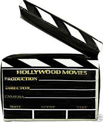Inflatable Clapper Board 45cm x 30cm  Hollywood Party Decorations - Movies Party