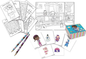 Disney Doc McStuffins Activity Pack - Party Bag Fillers - 4 Different Activities