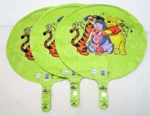 Pack of 3 Disney Winnie The Pooh and Friends Foil Helium Balloons Party Balloon