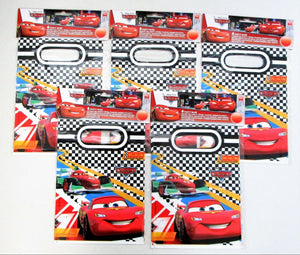 Pack of 30 Disney Cars RSN Plastic Party Bags - Lightning McQueen