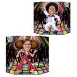 Disco Dancers Double Sided Photo Prop - 94 cm - 1970's Dancing Party Decorations