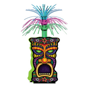 Tiki Table Centerpiece - Hawaiian Tropical Party Decorations - Summer Decoration