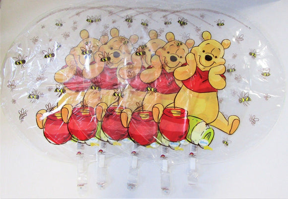 Pack of 5 Disney Winnie the Pooh Clear 26