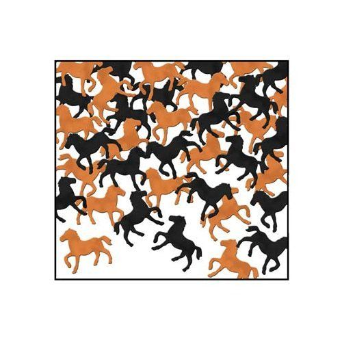 Western Horses Racing Table Confetti - Wild West & Cowboy Horse Party Decoration