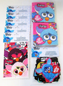 Furby Pack of 30 Party Bags - 40 Napkins and a Happy Birthday Letter Banner
