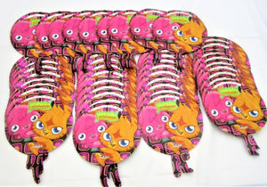 "Pack of 50 Moshi Monsters 9"" Foil Helium Balloons Kids Party Balloon - Wholesale"
