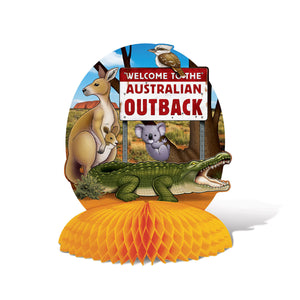 Australian Centerpiece - 25 cm - Welcome to the Outback Party Decorations