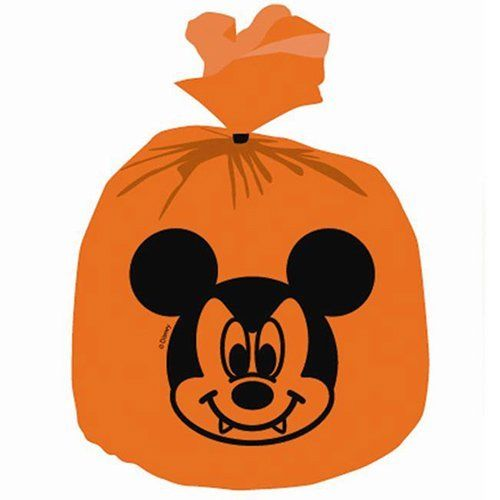 Pack of 6 Disney Mickey Mouse Halloween Party Decoration Bags
