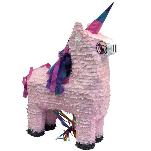 Unicorn Pull Pinata Game - Pink Princess Birthday Party Indoor or Outdoor Games