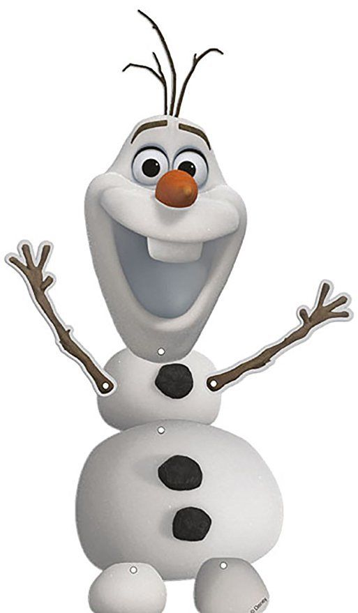 Disney Frozen Olaf Jointed Party Decoration - Hanging Decorations