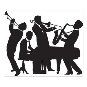 Great 20's Jazz Band Scene Setter Party Decoration - 1920's Wall Decorations