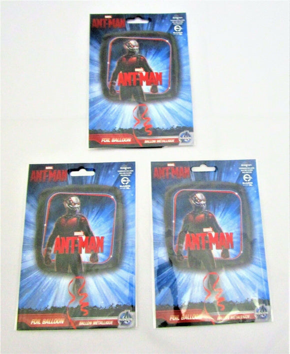 Pack of 3 Ant Man 17
