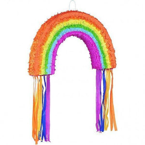 Rainbow Pinata - Party Games - Fun Kids Party Game - Summer Party Decorations