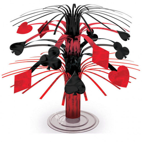 Casino Mini Cascade Centerpiece - Place Your bets Party Tableware Decorations