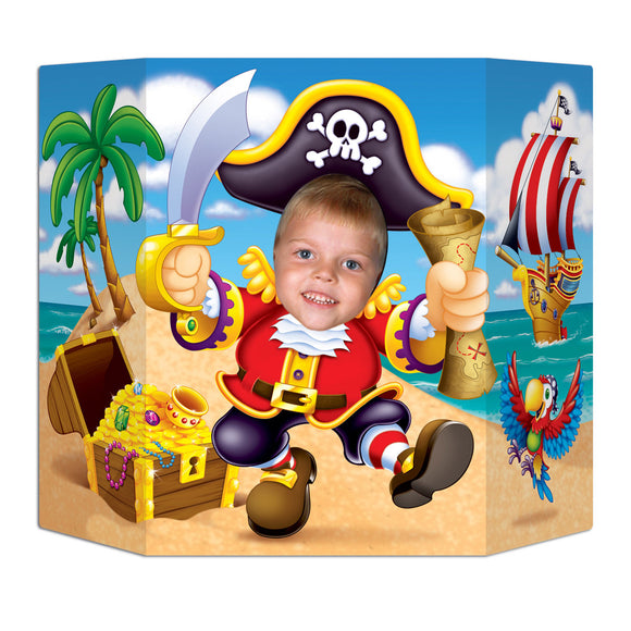 Dancing Pirate Photo Prop - 94 x 64 cm - Pirates Treasure Map Party Decorations