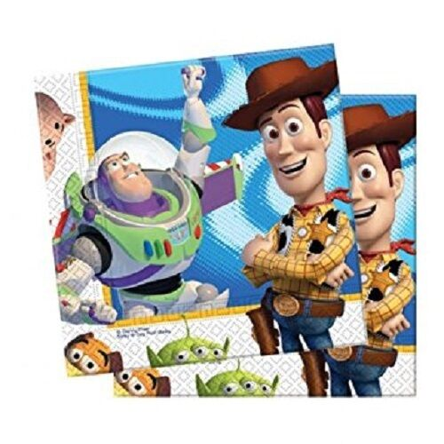 Disney Pixar Toy Story 3 Luncheon Napkins pack of 20 - Party Tableware