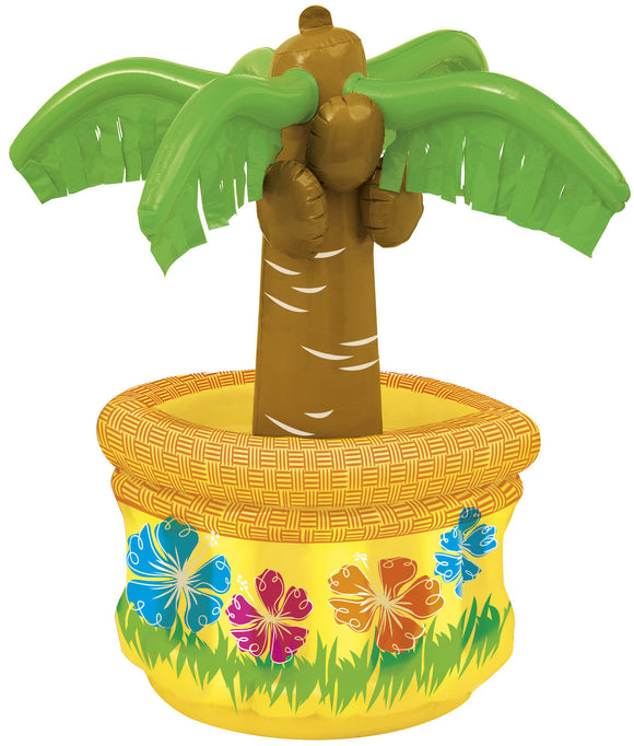 Inflatable Palm Tree Drinks Cooler - Tropical Party 66 cm (26