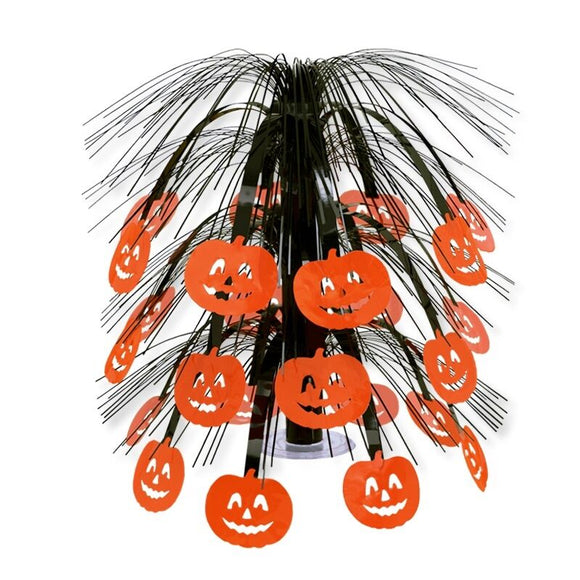 Jake-O-Lantern Pumpkin Cascade Centerpiece - 46cm - Halloween Party Decorations