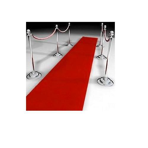 4 Red Carpets 15ft x 2ft - Hollywood Party Floor Decorations - Decorative Carpet