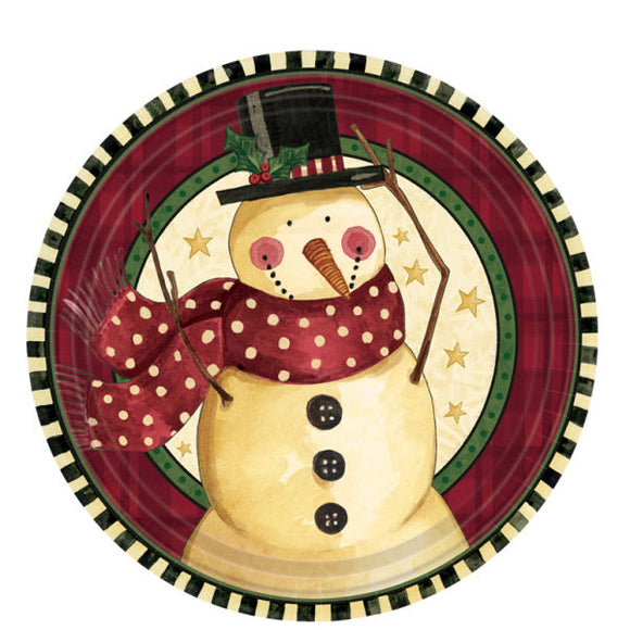Pack of 8 Cozy Snowman 7